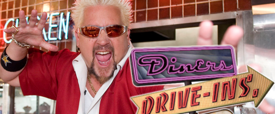 As Seen on Diners, Drive-ins, and Dives!